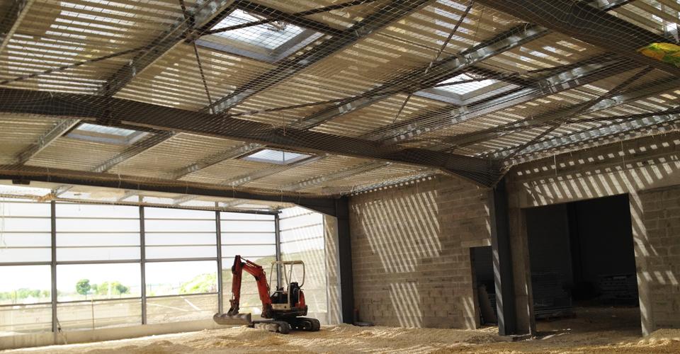 Construction intérieur Charente Packaging