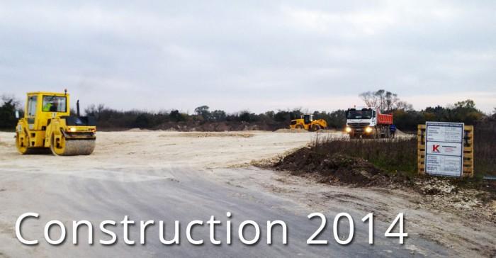 Construction des nouveaux locaux de Charente Packaging