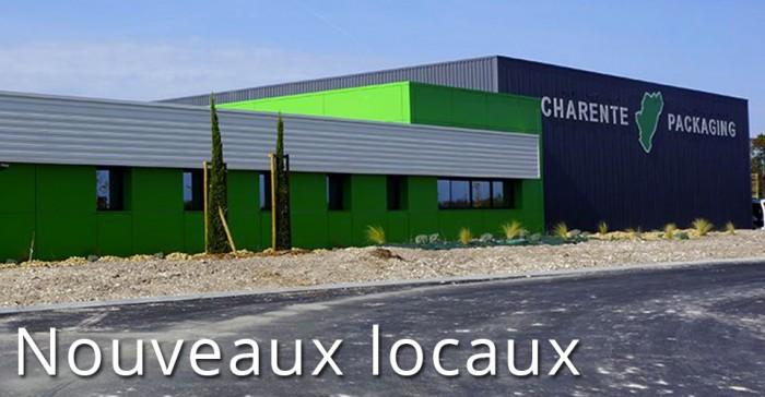 Nouveaux locaux Charente Packaging