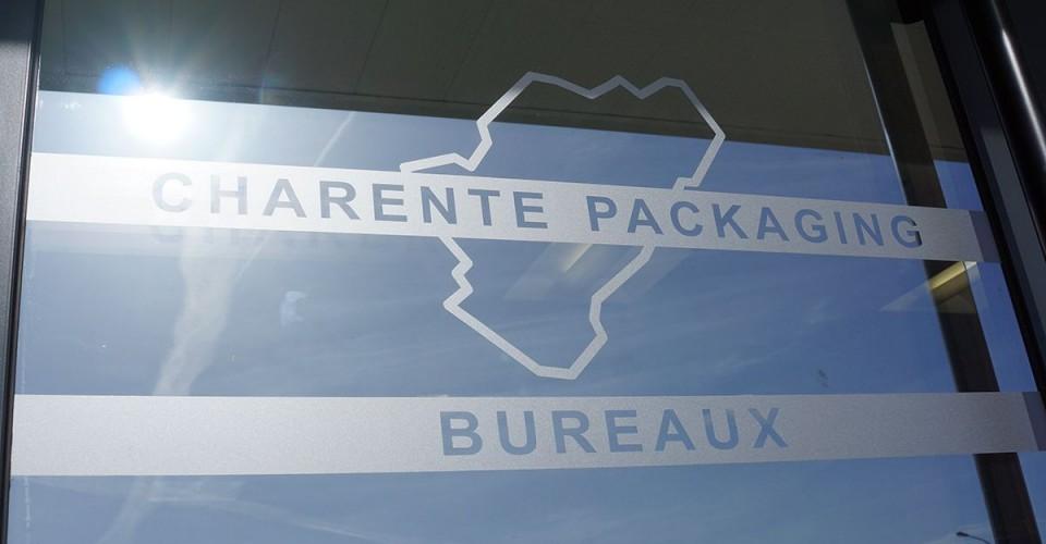 Entrée des bureaux de Charente Packaging